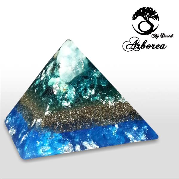 orgone pyramid handmade